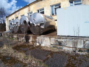Изотермическая емкость alfa laval с хранения